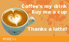 Buy me a cup. Thanks a latte!
