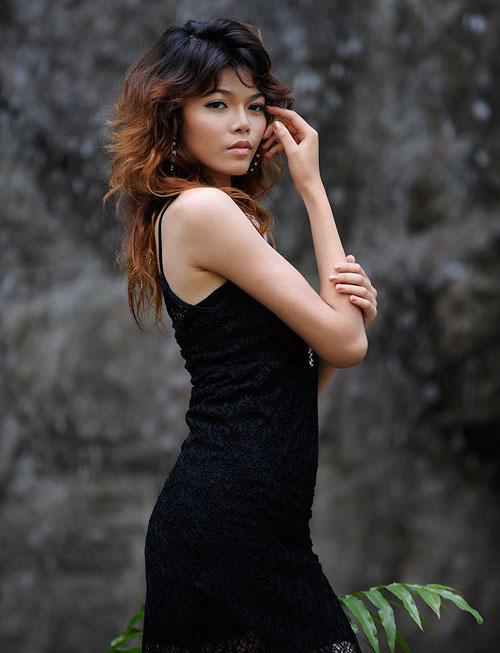 Model shoot at Baan Kampoo