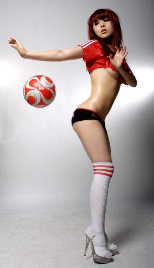 Sexy soccer girl