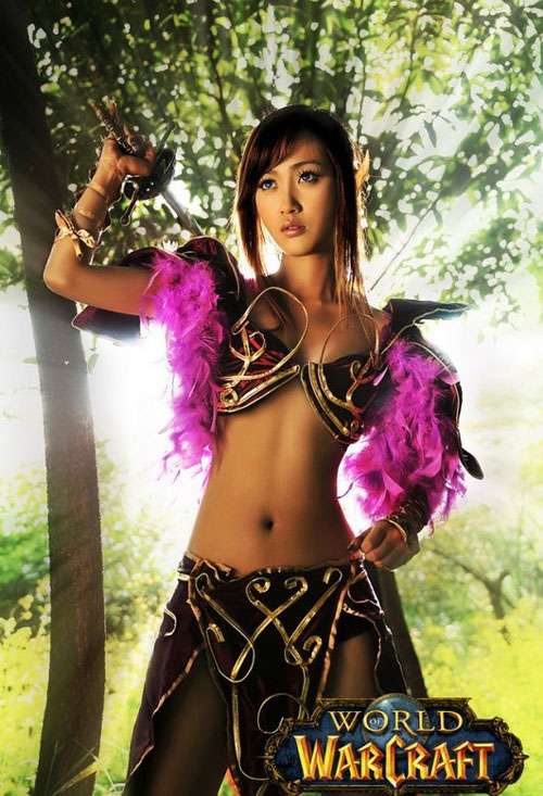 World of Warcraft hottie