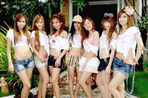 Young Thai pretties Allure Hot Girls