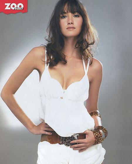 Thai model Sara Malakul Lane