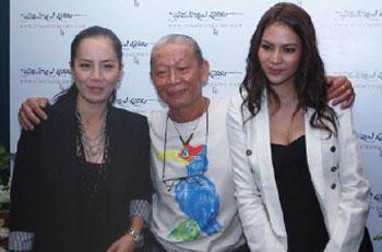 Niwat Kongpien with Jeet Saengthong
