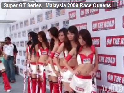Malaysian race queens video
