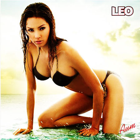 Hot Thai model for Leo beer calendar