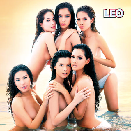 Leo beer calendar topless models