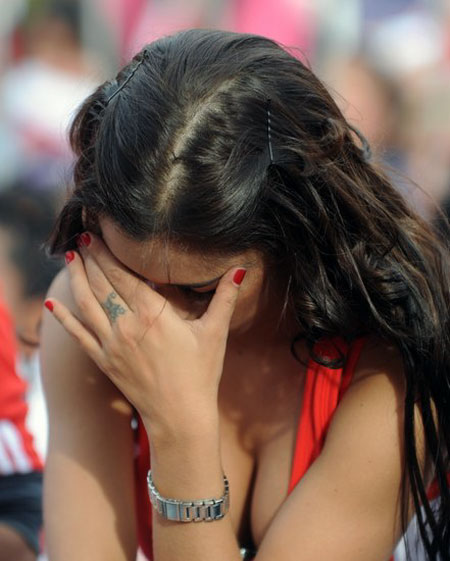 Sad World Cup Fan