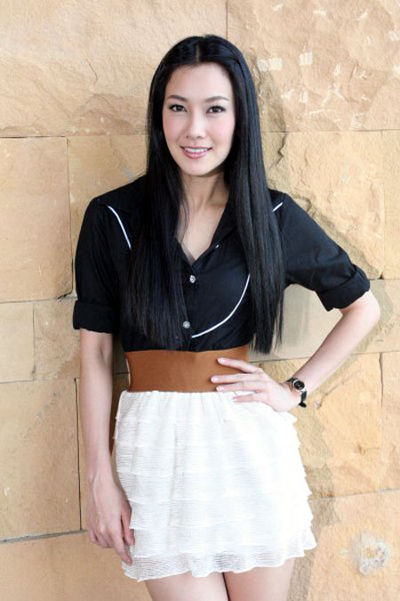 Thai actress Nun Woranuch