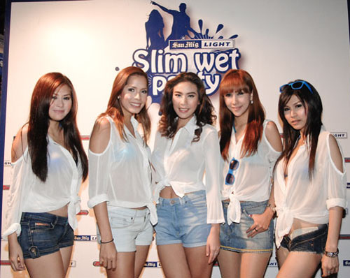 San Mig Slim Wet Party