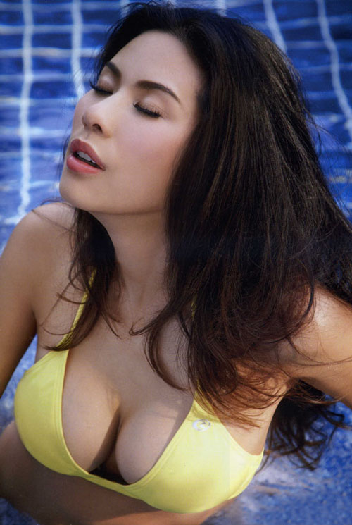 Busty Thai model Khree in Maxim