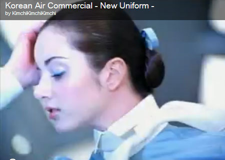Korean Air uniform