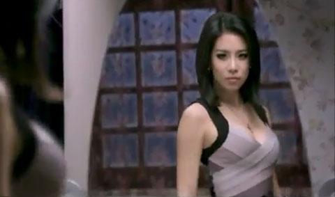 Cris Horwang busty bra commercial