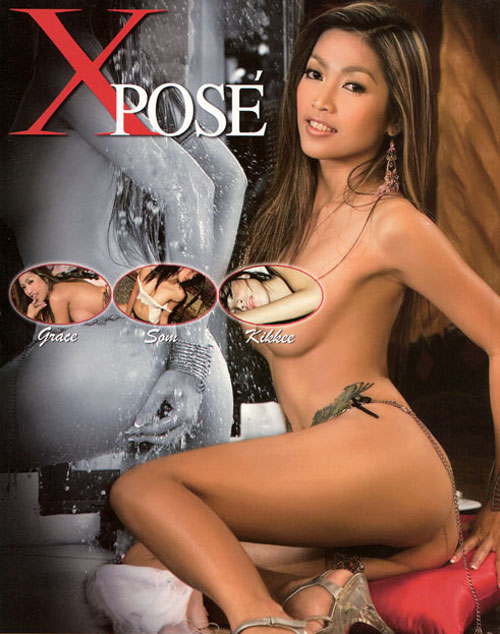 Thai models Xpose magazine