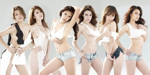Thai hotties for Zic motor oil calendar