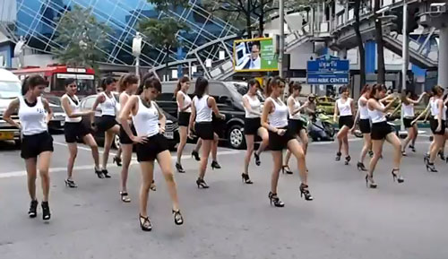 Blackberry flash mob