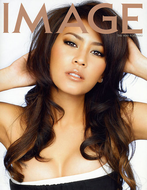 Thai actress Juy Warattaya cover of Image mag