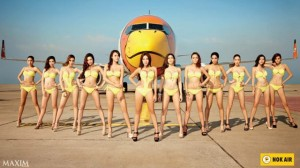 Nok Air calendar Maxim models