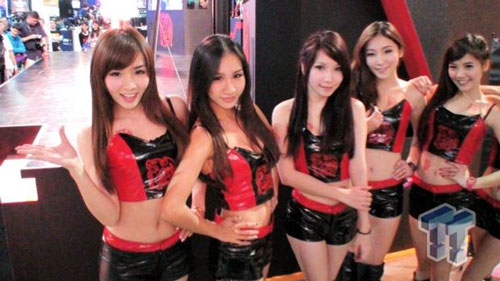Taipei Game Show Booth Babes
